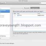 Mac De Başlangıç Programlarını Ayarlama