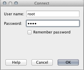 netbeans mysql connect password