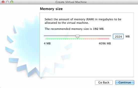 virtual box sanal makina kurulumu 2 ram ayarlama
