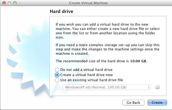 virtual box sanal makina kurulumu 3